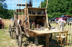 Wagon Chuck Wagon, Outdoor Living, Park, Outdoor Life, Parks, The Great Outdoors, Outdoors, Bushcraft