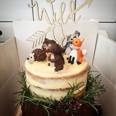 A favourite topper of ours!!! Simply love this #wildone #topper featured on a gorgeous @keeley_dottiespantry @carly_dottiespantry beautiful cakery creation #wooden #lasercut #topper #birthday #celebration #Dottiespantry #etchedstudio