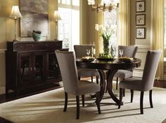 Small Round Dining Room Table Dining Room Furniture For Small Room With Brown Round Table And Chairs On Dining Room Style