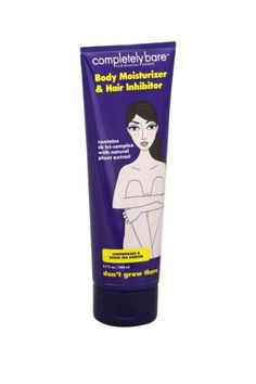 Keep your now-bare-legs that way by smoothing on this moisturizing hair inhibitor. Completely Bare Don't Grow There Body Moisturizer & Hair Inhibitor, $9.99, available at Ulta.  #refinery29 http://www.refinery29.com/best-hair-removal-products#slide-2