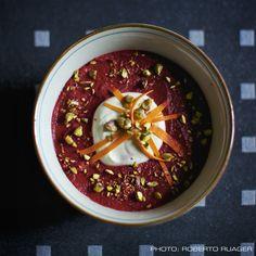 Red Beet and Pistacchio Cream (Vegan)
