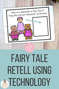 I'm so excited to begin incorporating digital fairy tales with my primary students! These are interactive and such a great way to assess understanding. I LOVE that they include sound!