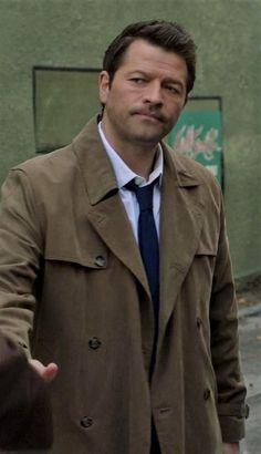 Castiel, Supernatural, Coat, Jackets, Fashion, Down Jackets, Moda, Sewing Coat, Fashion Styles
