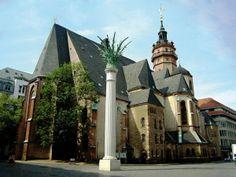 Nikolai Church, Leipzig, Germany