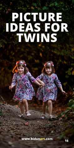 Tips and posing guide for photographing twins and siblings of all ages. How to show the bond and connection through identical twins portrait photography.