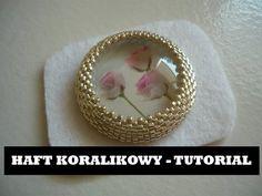 Haft koralikowy - Podstawy [TUTORIAL]   Qrkoko.pl - YouTube Free jewelry tutorial. Bead embroidery with toho beads. Part 1/3