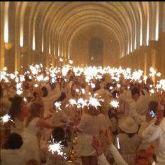 Dîner en blanc 2012 Versailles / Orangerie