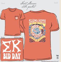 @geneologie Sigma Kappa Recruitment & Bid Day #greeklife #sorority @Michelle Sebastian