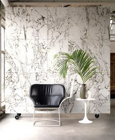 Marble wallpaper by Piet Hein Eek for NLXL   More on my blog !