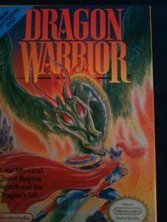 Dragon Warrior  (Nintendo Box 1989) NES Game in Box 1985