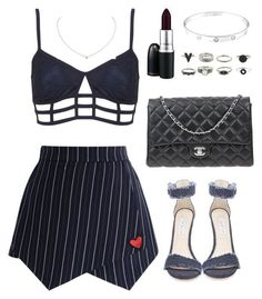 Classy and stylish outfit of the day featuring Topshop, Chicwish, Steve Madden, Chanel, Cartier and MAC Cosmetics. Cute Swag Outfits, Stage Outfits, Kpop Outfits, Teen Fashion Outfits, Kpop Fashion, Classy Outfits, Star Fashion, Chic Outfits, Trendy Outfits