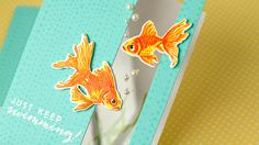Getting the look of colored embossing with clear powder... and a window panel for a see-through card. ** SUPPLIES ARE LINKED TO STORES BELOW ** For more info...