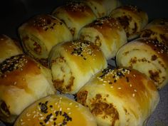 Cooking Pleasure: SERUNDING BREAD ROLLS