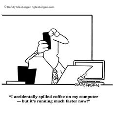 If only that's how things worked. Office Humour, Funny Note, Coffee, Kaffee, Cup Of Coffee