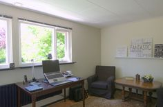 Kantoor aan huis #kantoor #aan #huis #thuiswerken #bedrijfsruimte