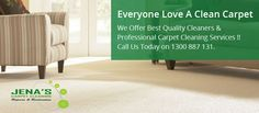 Jena's Carpet Cleaning is the best carpet cleaners provider company in Melbourne.We offers affordable carpet cleaning service.