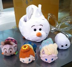 Frozen Fever Tsum Tsum Bag Set Sneak Preview