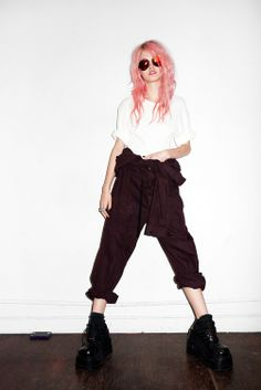 """EDITORIAL Purple Fashion Spring/Summer 2012 """"Tenderness"""" Feat. Charlotte Free by Terry Richardson - i used to adore charlotte but after reading her blog entries she's a joke to me."""