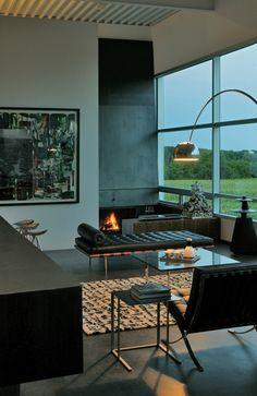 ♂ Masculine interior home deco Field House | Wendell Burnette Architects