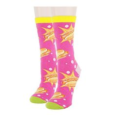 Floowyerion Mens unicorn American flag star Novelty Sports Socks Crazy Funny Crew Tube Socks