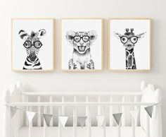 NEW DESIGNS . We have some newbies to the line up! I cant help but smile at the lion . Art Wall Kids, Nursery Wall Art, Art For Kids, Bedroom Wall, Art Hipster, Party Invitations Kids, Personalised Prints, Art Mural, Kids Decor