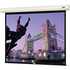 Da-Lite Cosmopolitan 40807L Electric Projection Screen - 153' - 1:1 - Wall Mount Ceiling Mount