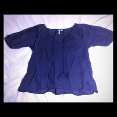 Old navy peasant top shirt blouse Barely worn! Old Navy Tops Blouses