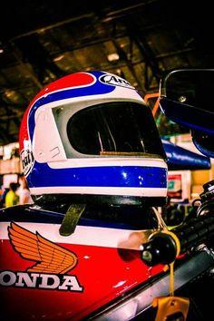Arai and Honda retro marriage