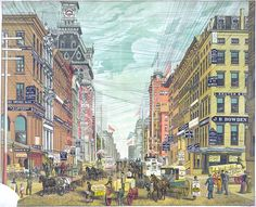 """Maiden Lane is so much more than it appears. The WPA Guide to New York City described it as """"a footpath used by lovers along a rippling brook""""."""