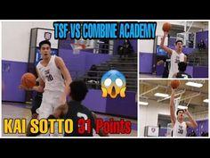 Kai Sotto drops 31 points vs Combine Academy Drop, Sports, Hs Sports, Excercise, Sport, Exercise