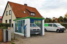 Art-EFX-Trafostation als Waschanlage der Avacon AG, #artefx, #murals, #muralpainting, #streetart, #graffitiauftrag, #substation, #illusionsmalerei, #gehrden, #avacon