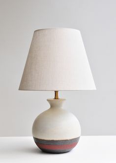 Pair of Stoneware Table Lamps by Bruno Gambone | Rose Uniacke