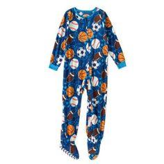 Komar Boys' Kids Sports Blanket Sleeper, Size: 10/12, Multicolor