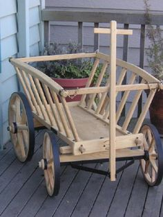 Amish Goat Cart - Large View Cart (0) Colors Amish Goat Cart - Price: $380.00