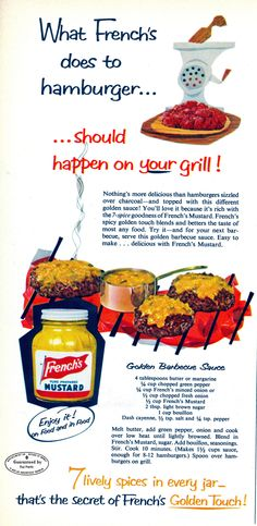 """French's Barbeque Sauce Recipe from """"Womans Day"""" 