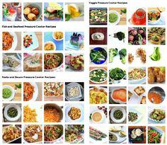 pressure cooker recipe index