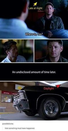 Destiel is canon!! Oh my god, I never caught that before.