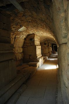 Ancient City of Ephesus. Passage to the Roman Theater.