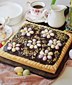Easter Dishes, Easter Recipes, Cheesecakes, Sweet Recipes, Food And Drink, Yummy Food, Favorite Recipes, Sweets, Vegetables