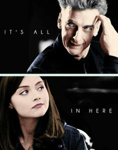 The new Doctor and Clara. You think it doesn't work? I Am The Doctor, Bbc Doctor Who, First Doctor, Eleventh Doctor, Tv Doctors, Clara Oswald, Peter Capaldi, Torchwood, Dr Who