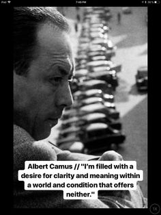 Clarity and meaning Albert Camus Quotes, Quarter Life Crisis, Wisdom Quotes, Qoutes, Best Quotes, Awesome Quotes, Leadership Quotes, Pretty Words, People Quotes