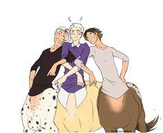 Fabian, Charlie, and Pistachio.