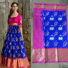 Long gown dress - Top Bridal Dress Styles Online App The fabric for bridal clothes which look best is chiffon, net, banarsi kapra, jamavar and katan Chiffon and aurganza are usually used to design dupattas with heavy Lehenga Designs, Kurta Designs, Half Saree Designs, Kurti Designs Party Wear, Saree Blouse Designs, Lehenga Saree Design, Indian Gowns Dresses, Indian Fashion Dresses, Dress Indian Style