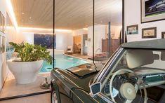 Architektenvilla mit atemberaubendem Panoramablick auf den Bodensee Villa, Modern, Bathroom, Sous Sol, Living Dining Rooms, Storage Room, Underground Garage, Gym Room, Wine Cellars