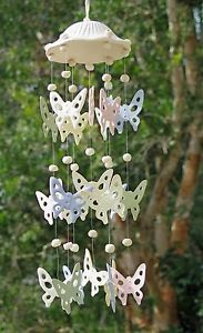 Ceramic Wind Chimes Butterfly | Wind Chimes Ceramic Butterfly Windchime Gift Wind Chime | eBay