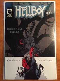 Hellboy Darkness Calls #3 -  June 2007 - Dark Horse