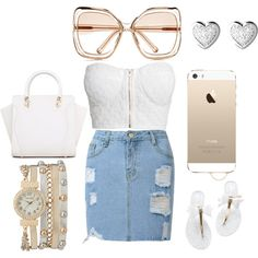 all white summer event by douthdes on Polyvore featuring polyvore interior interiors interior design home home decor interior decorating NLY Trend Links of London maurices Chloé