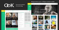 OoK - Personal Portfolio and Blog 1350px