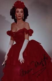 Anna Moffo as Violetta Valery in La Traviata. Can you tell that this opera has some fabulous costumes?