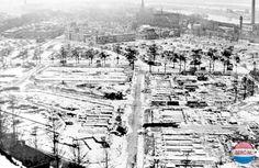 Regio Velsen gedurende de Tweede Wereldoorlog - 1945 - Bufferzone tussen IJmuiden en het water